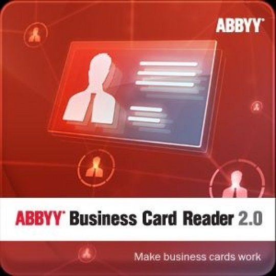 ABBYY Business Card Reader 2.0 (for Windows) 1 year license/ESD