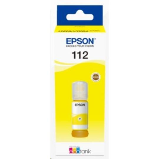 EPSON ink bar 112 EcoTank Pigment Yellow ink bottle