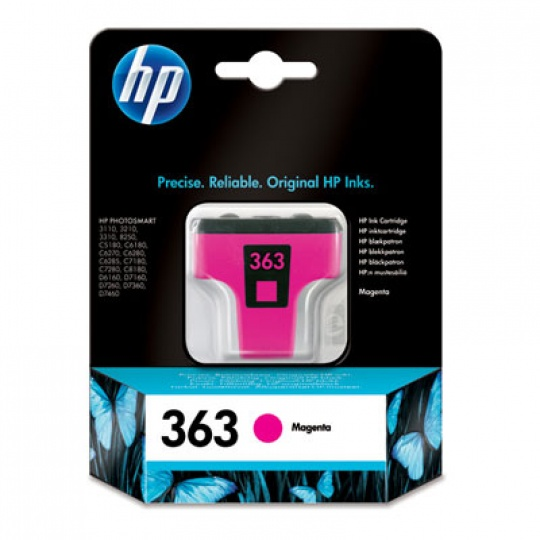 HP 363 Magenta Ink Cart, 3,5 ml, C8772EE