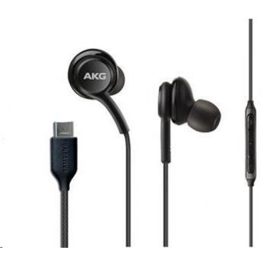 Samsung stereo sluchátka EO-IC100BBE, USB-C, černá