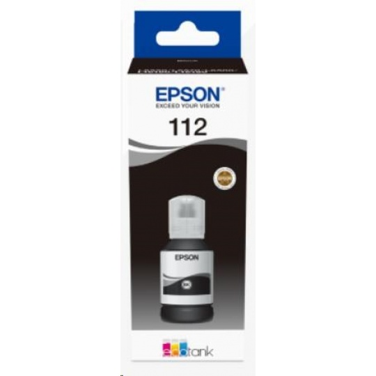 EPSON ink čer 112 EcoTank Pigment Black ink bottle