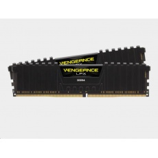 CORSAIR DDR4 16GB (Kit 2x8GB) Vengeance LPX DIMM 3600MHz CL18 černá