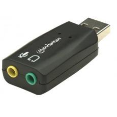 MANHATTAN Zvuková karta USB 3-D Sound Adapter