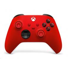Xbox Wireless Controller červený - ovladač