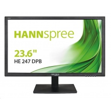 "HANNspree MT LCD HE247DPB 23,6"" 1920x1080, 16:9, 250cd/m2, 1000:1 / 40M:1, 5ms"