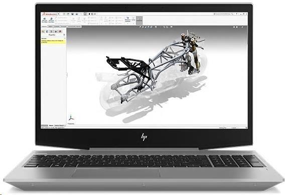 """ZBook 15V G5 i7-8750H 15.6FHD,8GB DDR4 2666, 256GB 2,5"""" TLC, WiFi AC, BT, FPR, P600/4GB, FDOS"""