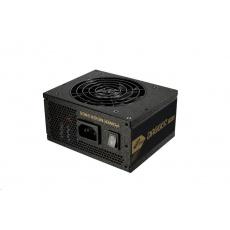 Fortron zdroj 650W DAGGER PRO 650, 80+ GOLD, Full Range, Modular cable, SFX&ATX,full protectiion, 8cm dual BB