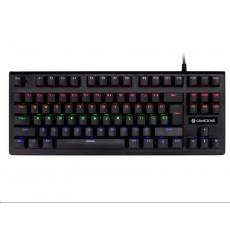 TRACER klávesnice GAMEZONE Stinger 87, herní, drátová, mechanická, USB, černá, podsvícená