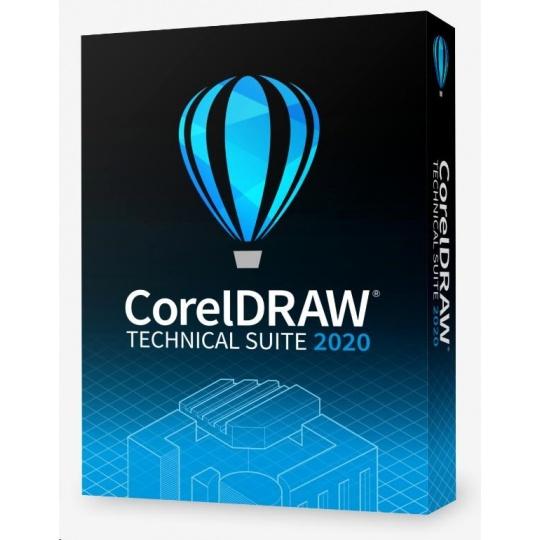 CorelDRAW Technical Suite 2020 Enterprise License (5-50) - EN/DE/FR