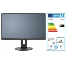"""FUJITSU LCD B24-9 TS IPS 23.8"""" matný, 1920x1080, 250cd, 5ms, DP, HDMI, D-SUB, REPRO, 2x USB 3.1, PIVOT, černý"""