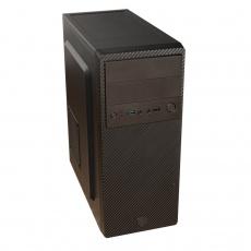 EUROCASE case ML X502 EVO, 1xUSB3.0, 1xUSB2.0, audio, bez zdroje, černá