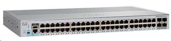 Cisco Catalyst 2960L-48TS-LL, 48x10/100/1000, 4xSFP