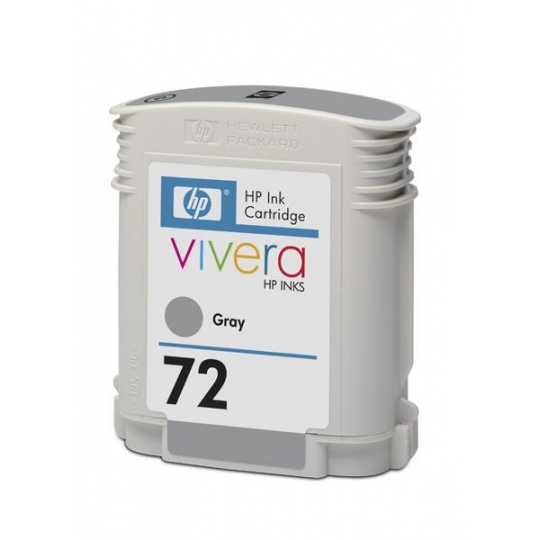 HP 72 Grey DJ Ink Cart, 69 ml, C9401A