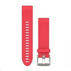 Garmin řemínek pro fenix5S - QuickFit 20, růžový