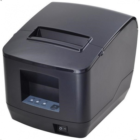 Birch CP-Q2 Pokladní tiskárna s řezačkou, USB + Bluetooth, černá, tisk v českém jazyce