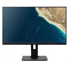 """ACER LCD B247YBMIPRZX, 23.8""""(60cm), 100M:1, 250cd/m2, 178°/178°, 4ms, VGA, HDMI, USB, DP, black,3r on-site"""