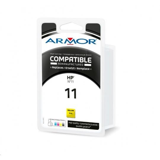 ARMOR cartridge pro HP Officejet 9110/9120/9130 yellow / žlutá (C4838A) 28ml 2550 stran