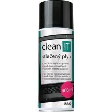CLEAN IT Stlačený vzduch 400ml (náhrada za CL-1)