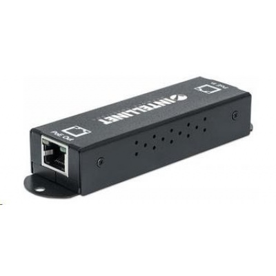 Intellinet 1-Port Gigabit High-Power PoE+ Extender Repeater, 802.3af/at