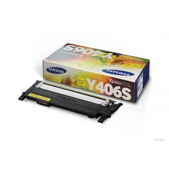 Samsung CLT-Y406S Yellow Toner Cartri