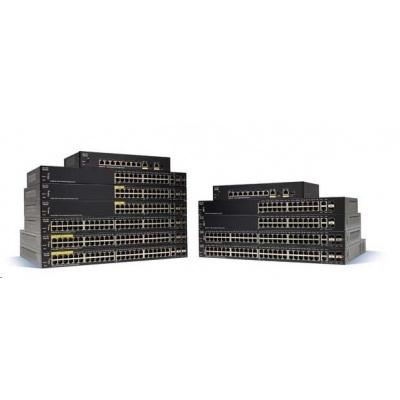 Cisco switch SG350-28SFP 24xSFP, 2xGbE SFP/RJ-45