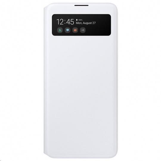 Samsung pouzdro S-View EF-EA715PWE pro Galaxy A71, bílá