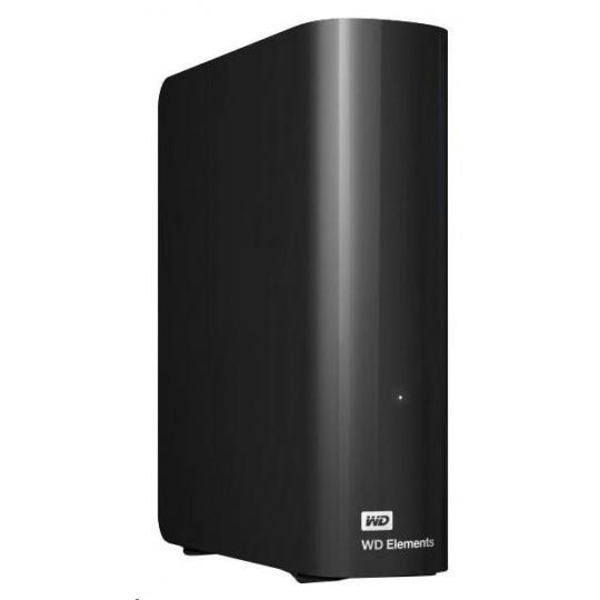 "WD Elements Desktop 6TB Ext. 3.5"" USB3.0, Black"