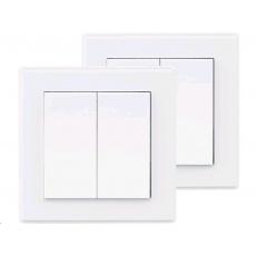 Extol Light vypínač/ovladač, dvojitý, 2ks 43822