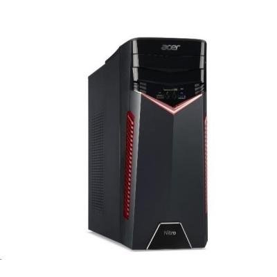 ACER PC Nitro GX50-602 - i5-8400@2.8GHz,8GB,1THDD72,DVD-RW,nvd gtx 1050Ti-4G,kb+mys,W10H
