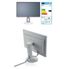 """FUJITSU LCD P24-8 WE NEO IPS 24"""" matný, 1920x1200, 1000:1, 300cd, 5ms, HDMI, DP, DVI, repro, USB, PIVOT, bílý"""