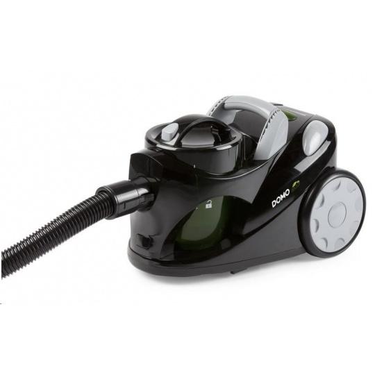 DOMO DO7271S Bezsáčkový vysavač černý Eco tř.C