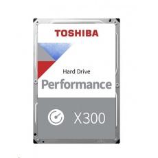 "TOSHIBA HDD X300 6TB, SATA III, 7200 rpm, 128MB cache, 3,5"", BULK"