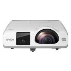 EPSON projektor EB-536Wi, 1280x800, 3400ANSI, HDMI, VGA, LAN, SHORT,10.000h ECO živ. lampy, REPRO 16W, 5 LET ZÁRUKA