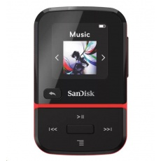 SanDisk Clip Sport Go MP3 Player 16GB, Red