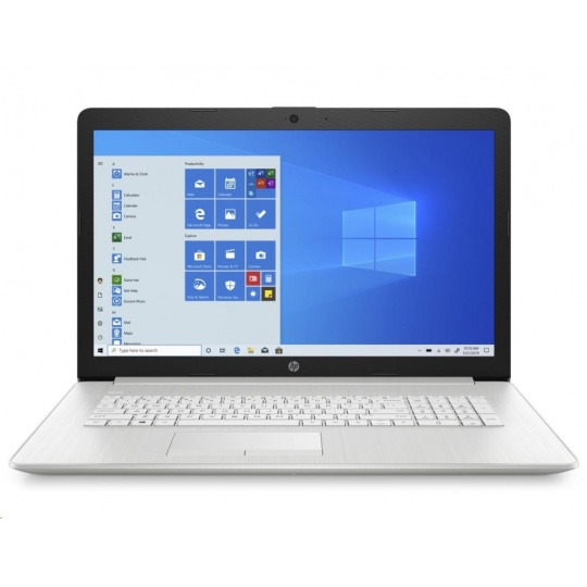 NTB HP 17-by3000nc, 17.3,SVA AG HD+, Core i3-1005G1 dual, 8GB DDR4, SSD 256GB, Intel UHD Graphics, Win10, Natural silver